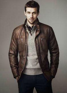 Jaquetas de Couro: Sugestões e Exemplos de Como Usar