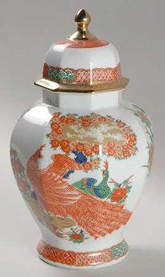 Arita Imari Ginger Jar