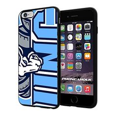"""NCAA NC University of North Carolina Tar Heels #13 , Cool iPhone 6 Plus (6+ , 5.5"""") Smartphone Case Cover Collector iphone TPU Rubber Case Black Phoneaholic http://www.amazon.com/dp/B00VUX5VLE/ref=cm_sw_r_pi_dp_jO2nvb0PR60KR"""