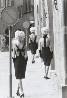 Three Little Dresses, 1961 © Norman Parkinson