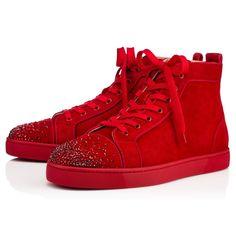 Shoes - Lou New Degra Flat - Christian Louboutin #christianlouboutinsneakers
