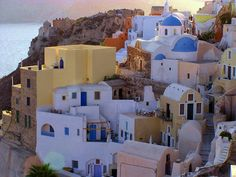 Santorini in Greece,, i strongly recommend to put This place on your list. http://dreamerstravelers.blogspot.com/2015/02/santorini-greece.html