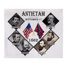 Antietam Throw Blanket  http://www.cafepress.com/Civil_War_1861_to_1865  http://www.cafepress.com/CivilWar1861to1865Part2  http://www.cafepress.com/USCivilWarColoredApparel