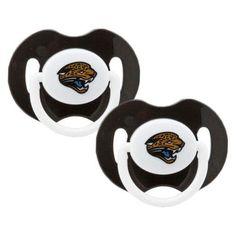 Jacksonville Jaguars Infant 2-Pack Pacifiers
