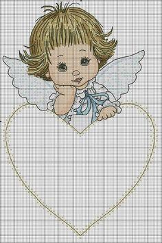 Cross Stitch Owl, Cross Stitch Angels, Cross Stitch Boards, Cross Stitch Designs, Cross Stitch Embroidery, Hand Embroidery, Cross Stitch Patterns, Embroidery Designs, Cross Stitch Christmas Ornaments