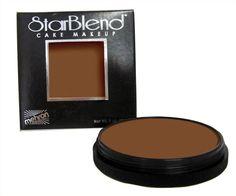 Mehron StarBlend Cake Foundation Makeup (Light Ebony) ** For more information, visit image link. #beautyandmakeup