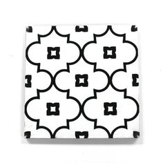 clé selected this petite and sweet pattern for its simple take on a classic moroccan shape. less pronounced than our more bold moroccan patterns- our moroccan petite arabesque is available in blue or white- and makes for a clean and cheery patte. Moroccan Pattern, Moroccan Design, Moroccan Bathroom, Arabesque Tile, Black And White Tiles, Black White, Artistic Tile, Rental Decorating, Fabric Rug