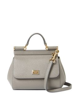 Sicily Mini Leather Satchel by Dolce
