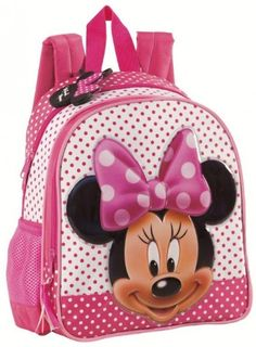 Disney Minnie Zaino Asilo Pois e Tempo Libero, Accessori Scuola Disney Bambina - TocTocShop.com