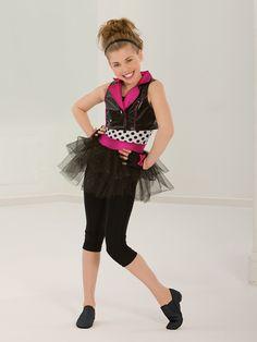 Only Imagine - Style 0438 | Revolution Dancewear Jazz/Tap Dance Recital Costume