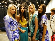 IDSWest Show in Vancouver    xsenia and olya   Tumblr