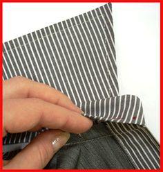 Como coser un cuello con soporte? No hay nada más fácil siguiendo estos consejos.   Antes de coser el cuello en la parte delantera, es nece...