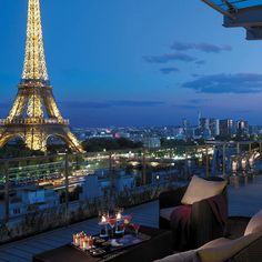 Rooftop Bar, Shangri-La Hotel Paris vossy.com