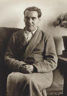 Federico García Lorca en 1930. Retrato realizado por Alfonso en las vísperas de la Segunda República.
