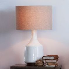 Morten Table Lamp - White #WestElm