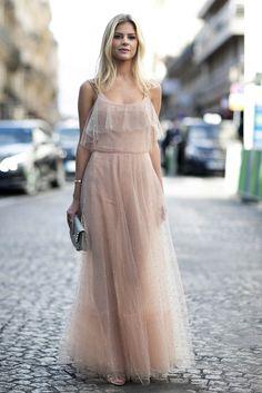 Paris Fashion Week SS17 Street Style: Day 6