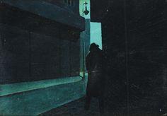 František Hudeček Door Handles, Image, Silhouettes, Shadows, Paintings, Artists, Illustrator, Group, Door Knobs