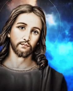 Pictures Of Jesus Christ, Jesus Christ Images, Religious Pictures, Mary And Jesus, Jesus Is Lord, Christian Images, Christian Art, Image Jesus, Jesus Christ Painting