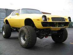 Chevy Camaro 4x4