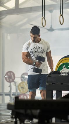 Legacy T-Shirt - White Nick Cheadale pumping in the Gymshark Fitness T-Shirt, with the iconic Gymshark Fitness logo and tapered fit.Fit Fit or FIT may refer to: Ace Fitness, Planet Fitness Workout, Fitness Logo, Mens Fitness, Fun Workouts, At Home Workouts, Sixpack Workout, Logo Image, Academia Fitness