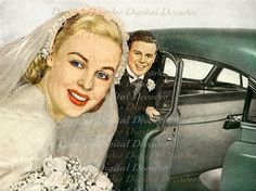 Mid-Century Style Weddings... by whiteriver51 on Etsy