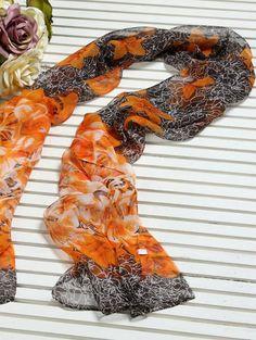 Silke tørklæde smukt og fint til hverdag og fest.