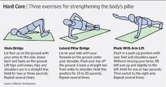 Exercises for the spine, health, exercises, lumbar exercises