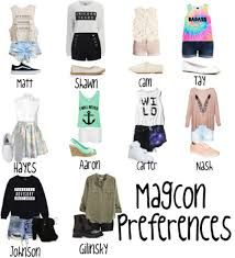 Image result for magcon preferences polyvore