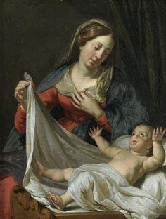 Philippe De Champaigne, Italian Art, St Joseph, Western Art, Madonna, Jesus Christ, Renaissance, Past, Saints