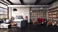 Loft Industriel par Architectural ID