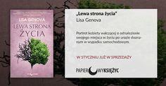 """""""Lewa strona życia"""" Lisa Genova, Papierowy Księżyc"""