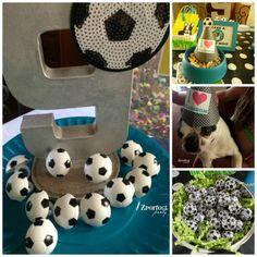 Girl's Soccer Birthday Party Favors