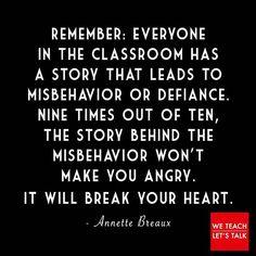 Truth. ( via We Teach Let's Talk Facebook page)