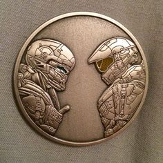 This Special Halo 5 Collectible Is Only Available on Military Bases - GameSpot... Chief and Locke