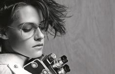 Kristen Stewart for Chanel Eyewear. See all the best fashion campaigns from spring 2015.