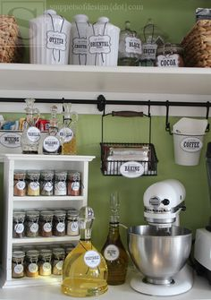 Pantry Organizing & Free Printables/ Snippets of Design