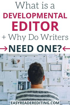 You may only hire one once in your writing career, but a developmental editor can be one of the best investments you can make for your writing. #writingtips #developmentaleditor #bookediting #editor #writingcoach