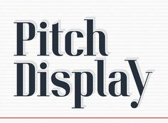 Pitch Display Free Typeface, #Display, #Free, #Geometric, #Graphic #Design, #Headline, #Resource, #Serif, #TTF, #Typeface, #Typography