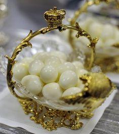 Quails eggs. Putin eats this as breakfast adds.
