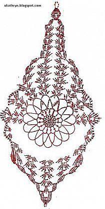 Szydełkowe Dziergadełka Nowak Katarzyna - Her Crochet Victorian Christmas Ornaments, Crochet Christmas Ornaments, Christmas Bells, Christmas Items, Thread Crochet, Filet Crochet, Crochet Motif, Crochet Stitches, Crochet Jewelry Patterns