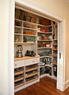 Kithen Remodel in Lincoln, Nebraska. Kitchen Pantry Design Rules: Walk-in Pantry Closet.
