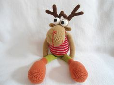 Moose crochet pattern by suwannacraftshop on Etsy