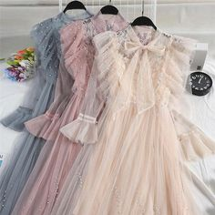 Mellie - Ruffle Pleated Tulle Dress Source by dresses Mesh Dress, Tulle Dress, Lace Dress, Cheap Dresses, Elegant Dresses, Pretty Dresses, Vestidos Vintage, Vintage Dresses, Hijab Dress Party