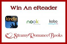 Enter to win an eReader of choice (Kindle, Nook, or Kobo) up to a value of $100.  The giveaway is open to US/CAN residents only and ends December 30, 2015.