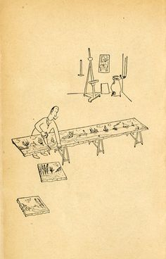 Steinberg's Genius Line Saul Steinberg, The New Yorker, List Of Artists, Visual Diary, Print Magazine, Illustrations And Posters, Some Pictures, Cartoon Drawings, Illustrators