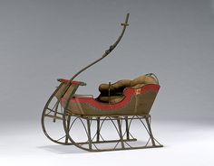 Victorian Paint-Decorated Child's Sleigh, (2009, Winter Fine and Decorative Art, February 7)