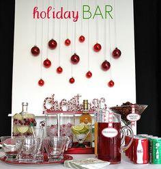 Christmas themed Bar