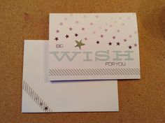 July Paper Pumpkin kit from Stampin' Up! for my niece who is off to college in a couple of weeks.