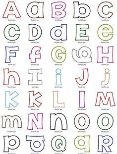 Happy Applique Machine Embroidery Alphabet Font