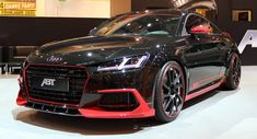 New Audi TT Earns Its First ABT Tuning Stripes | Carscoops Audi Rs7, Audi Quattro, Stripes, Vehicles, Third, Mystery, Cars, Cutaway, Essen